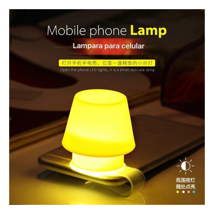 mobile phone lamp