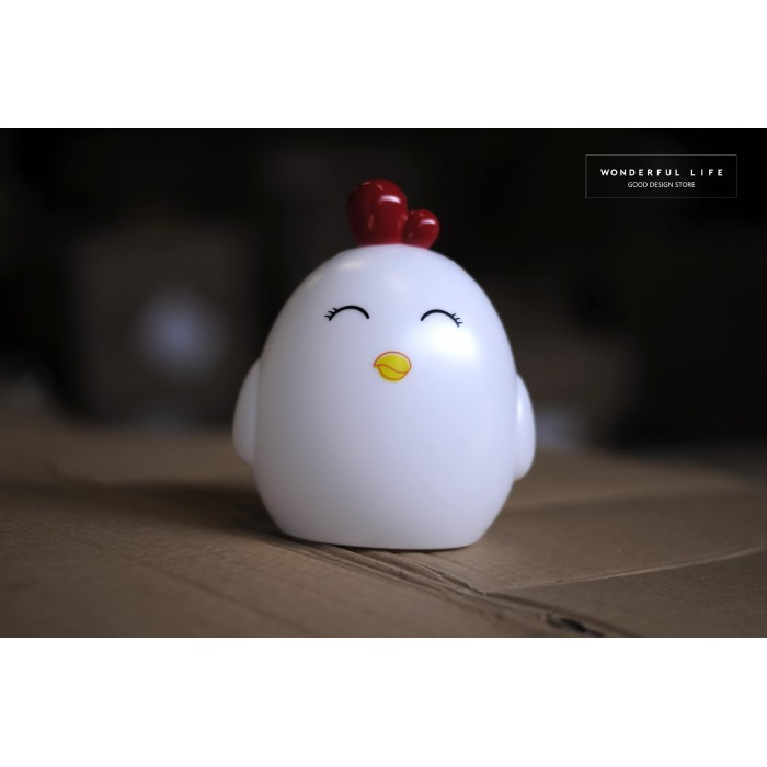 lampara led pollo